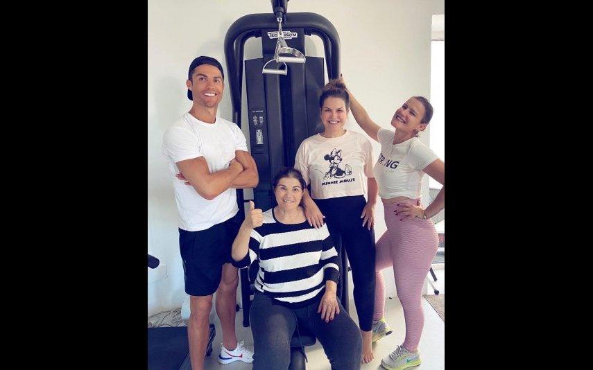 Dolores Aveiro, Katia, Elma e Cristiano