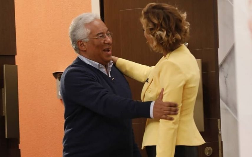António Costa e Cristina Ferreira