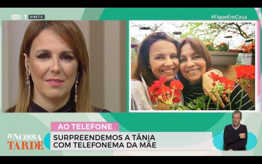Tânia Ribas de Oliveira e a mãe Fernanda Oliveira