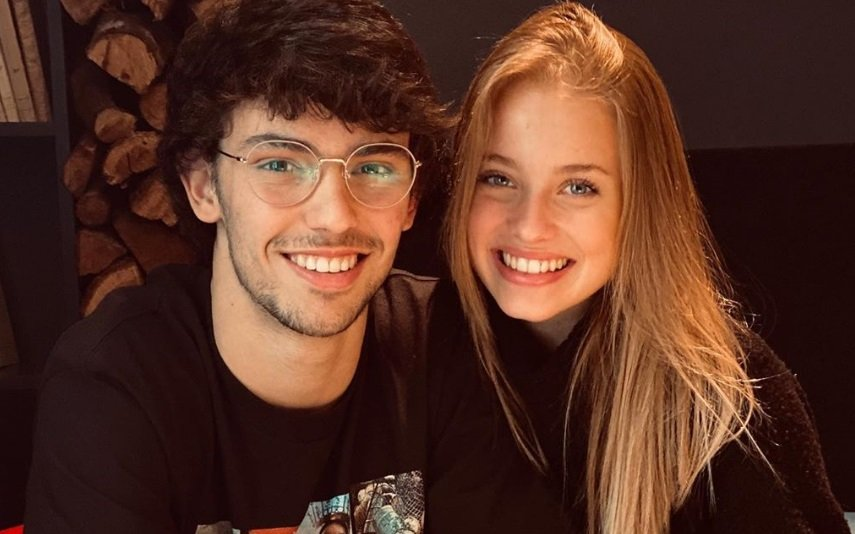 João Félix e Margarida Corceiro