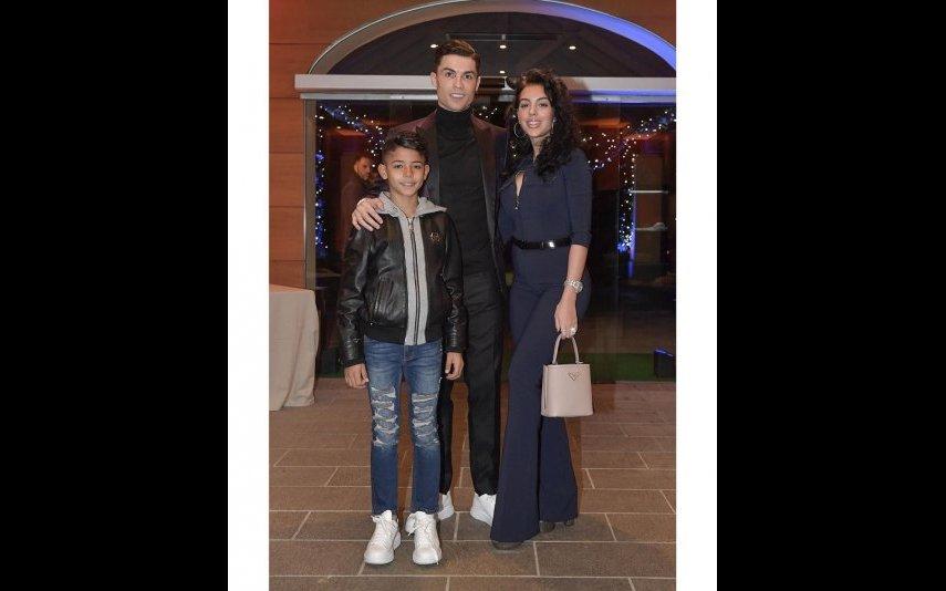 Cristiano, Georgina e Cristianinho