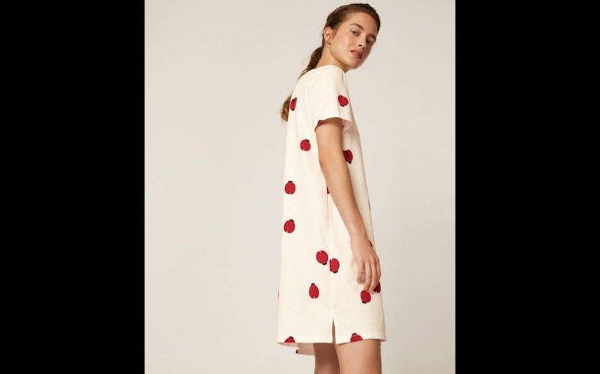 Camisa de noite com estampado de joaninhas - 19,99 € Oysho
