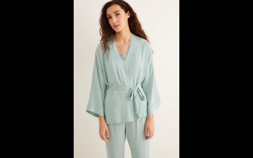 Pijama comprido: conjunto de 3 peças WS- 39,99