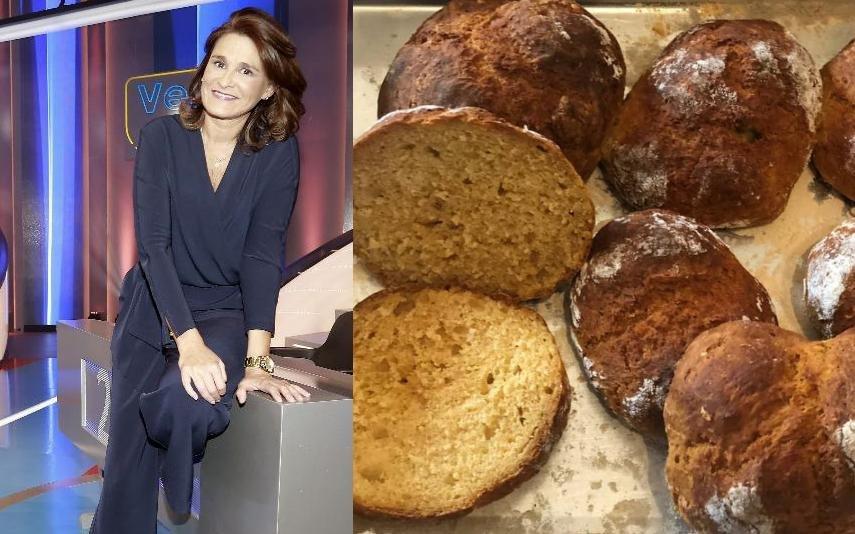 Rita Salema partilha receita de pão rápida para quem não tem paciência