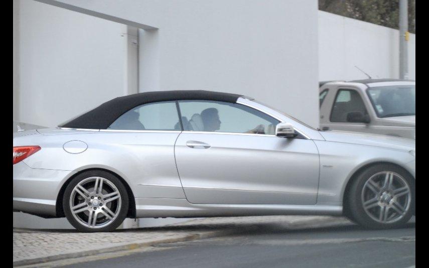Em 2012, Cristina Ferreira conduzia um Mercedes E Cabrio que custa cerca de 65 mil euros