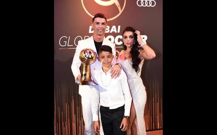 Cristiano Ronaldo, Georgina e Cristianinho
