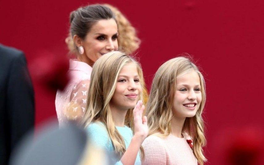 Princesa Leonor e Infanta Sofia