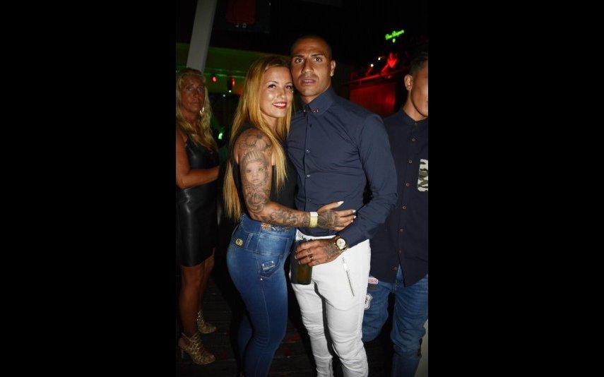 Ricardo Quaresma com a mulher, Dafne