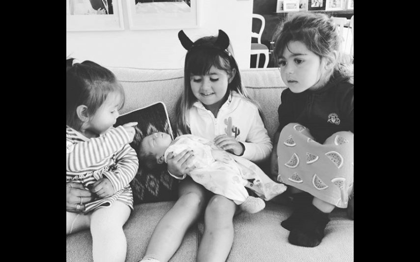 Carolina, Diana, Frederica e Eduardo