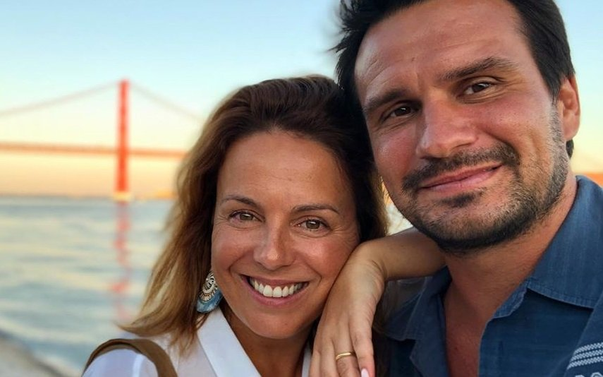 Tânia Ribas de Oliveira partilha vídeo inédito com o marido, João Cardoso
