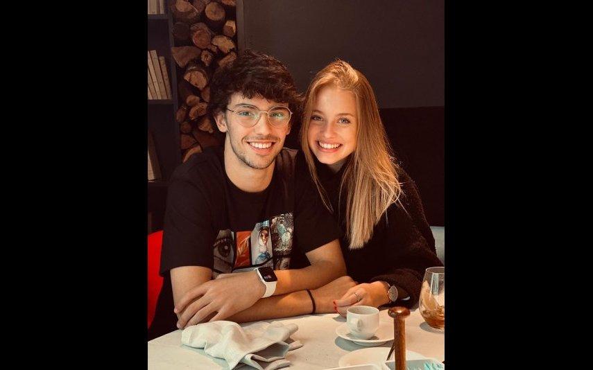 Margarida Corceiro e João Félix