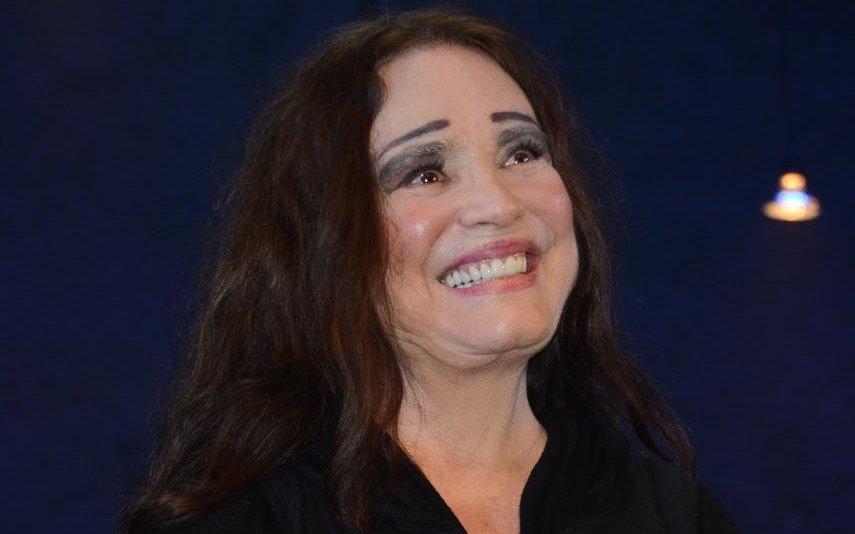 Regina Duarte irritou-se durante uma entrevista