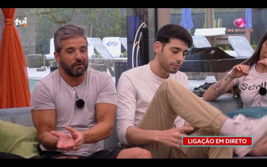 Hélder e Edmar no Big Brother 2020