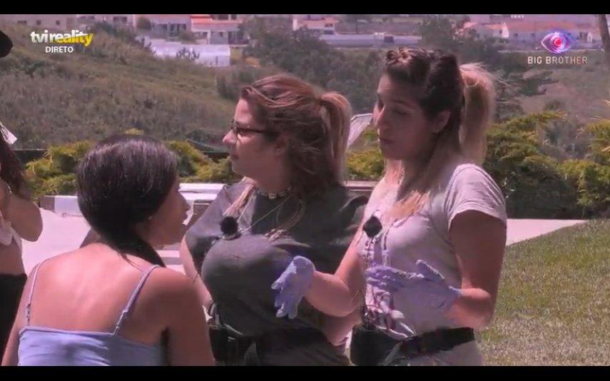 Angélica, Soraia e Sandrina