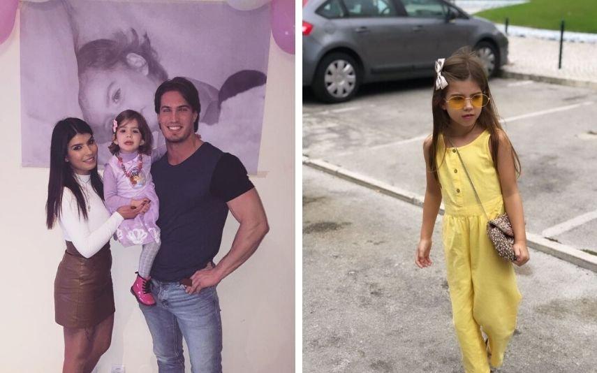 Yasmin, filha de Sofia Sousa e Tierry Vilson