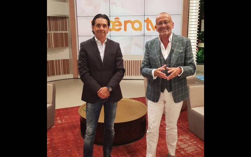 Pedro Soá e Manuel Luís Goucha