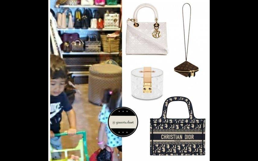 A coleção de malas de Georgina Rodríguez