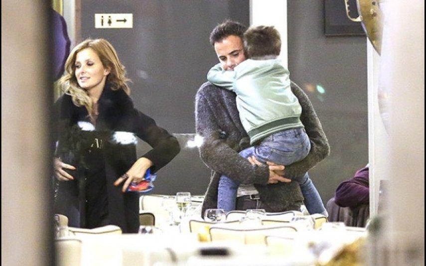 Cristina Ferreira e António Casinhas com Tiago