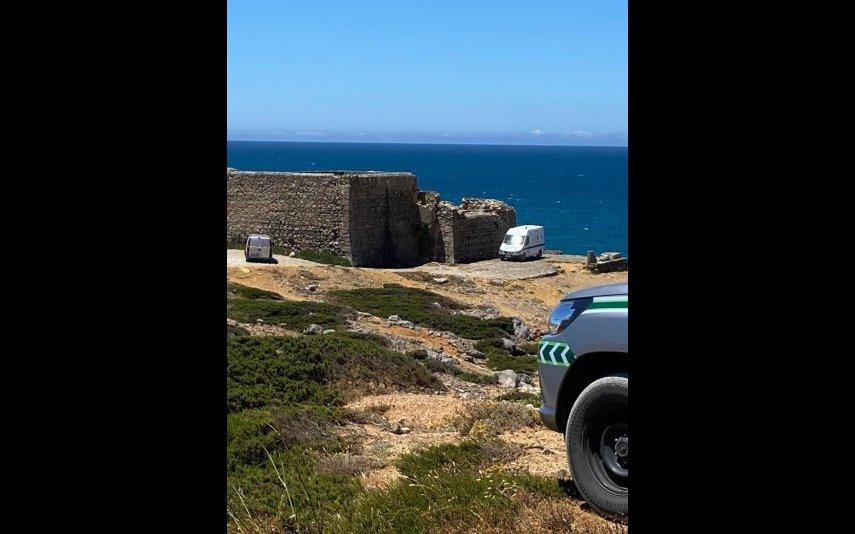 Praia do Abano, o local onde Pedro Lima foi encontrado