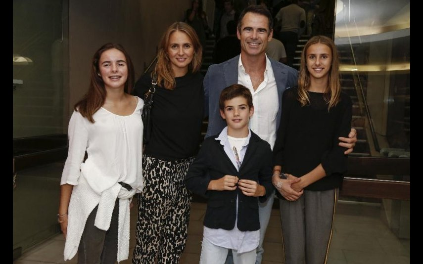 Pedro Lima com a família