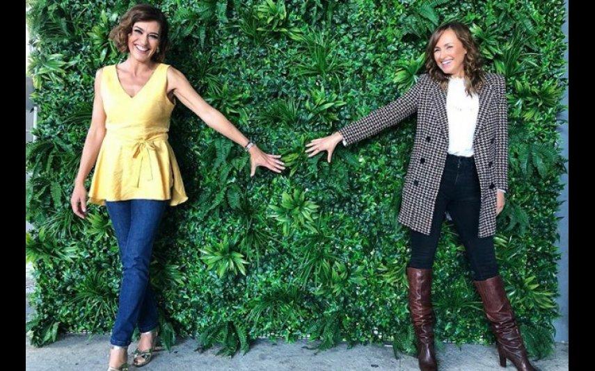 Fátima Lopes com Marisa Cruz