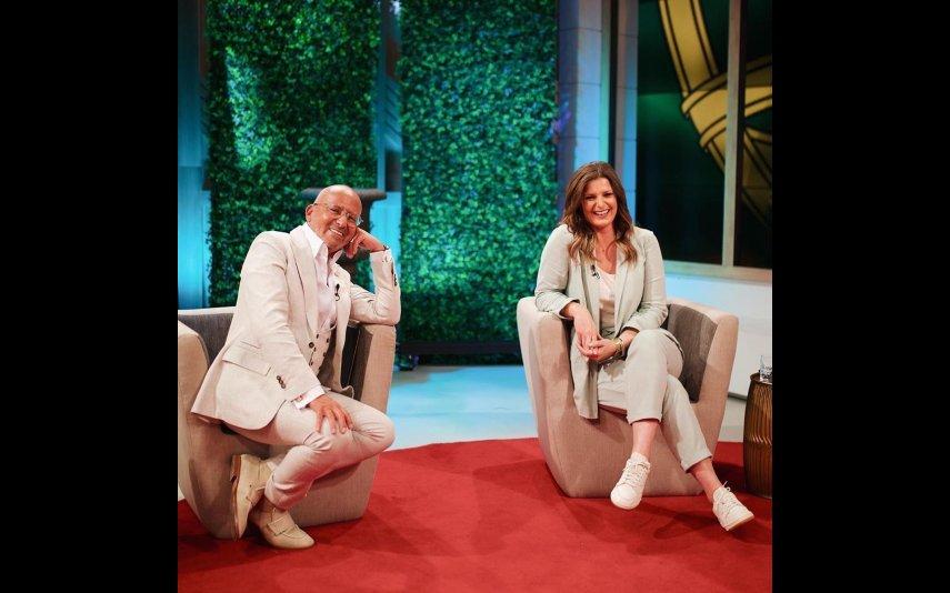 Maria Botelho Moniz e Manuel Luís Goucha