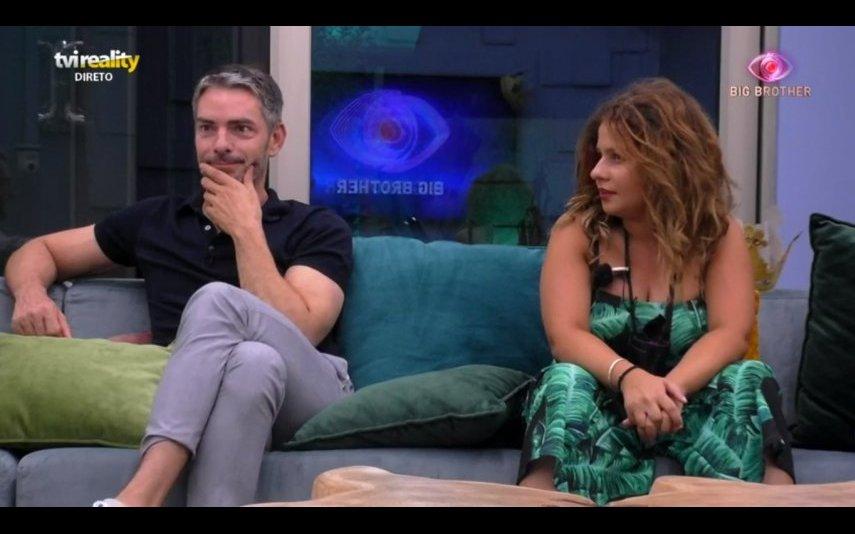 Cláudio Ramos e Sandrina