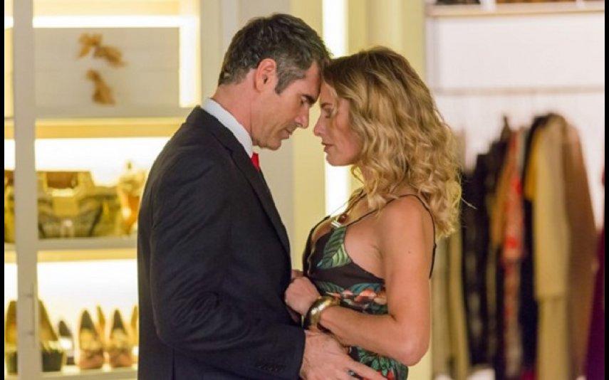 Pedro Lima e Fernanda Serrano em Amar Demais