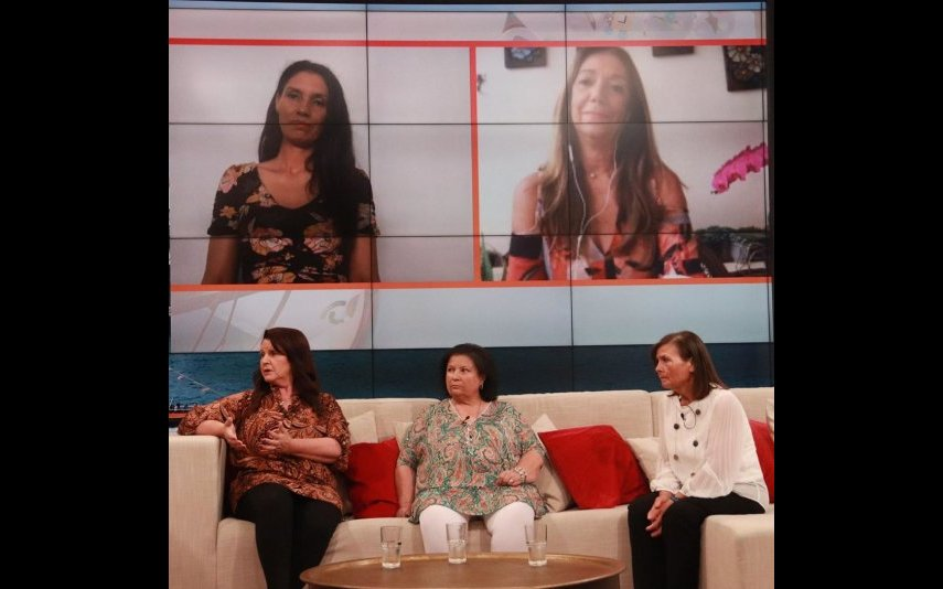 As mães dos finalistas do Big Brother