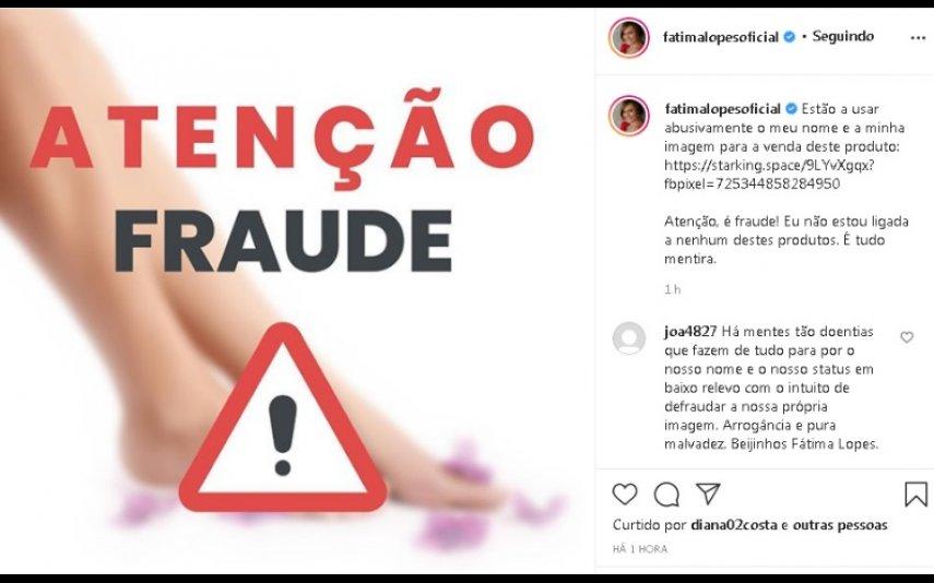 A publicação de Fátima Lopes