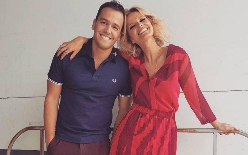 Cristina Ferreira e Pedro Teixeira