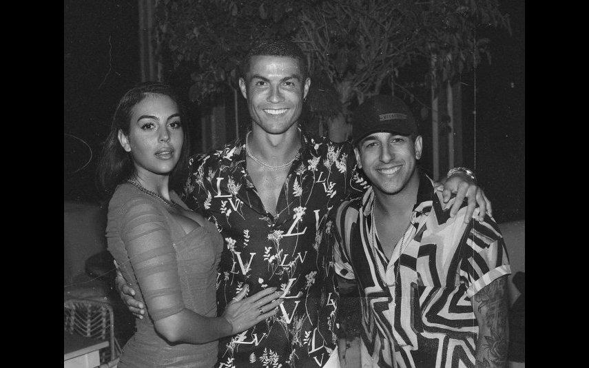 Fernando Daniel cantou para Georgina e Ronaldo