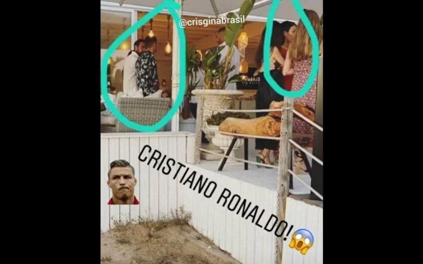 A festa de Georgina e Ronaldo