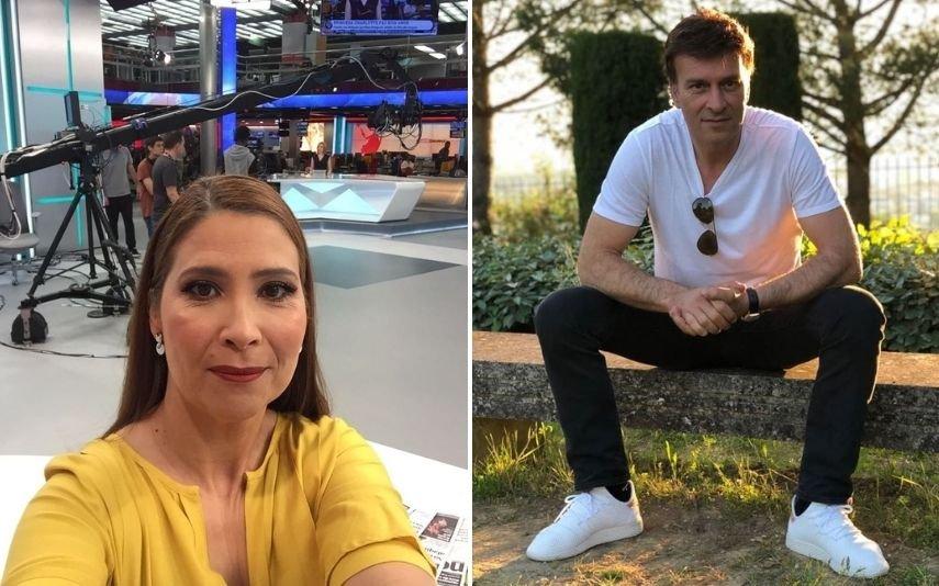 Cláudia Lopes e Tony Carreira
