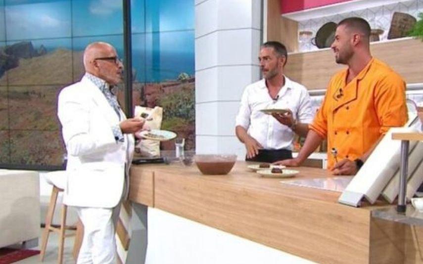 Manuel Luís Goucha, Cláudio Ramos e Marco Costa