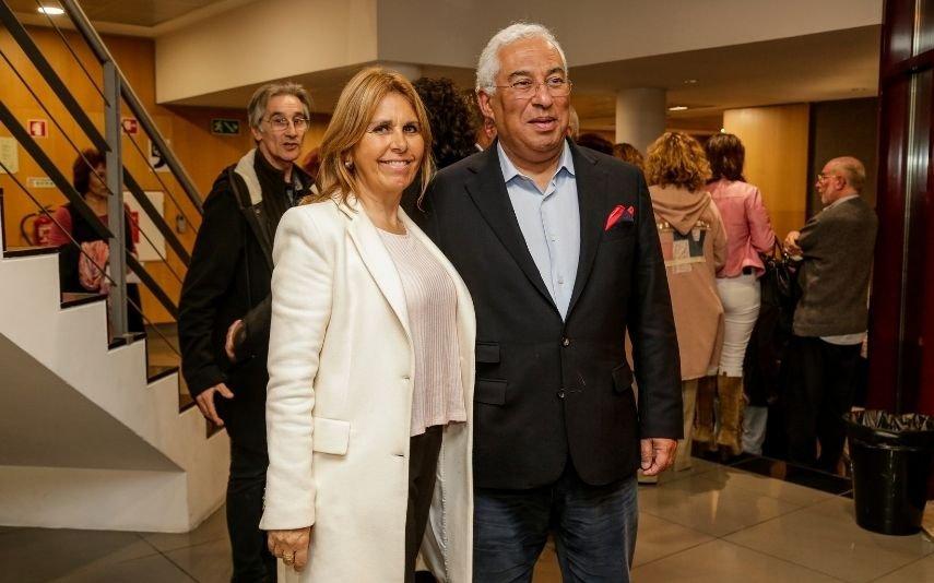 António Costa e Fernanda Tadeu