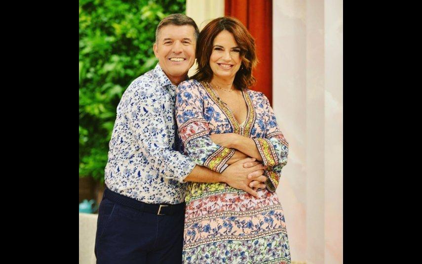 Bárbara Guimarães e João Baião