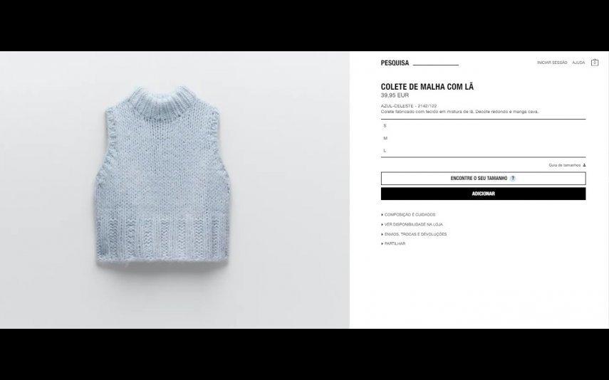 Zara - 39,35 euros