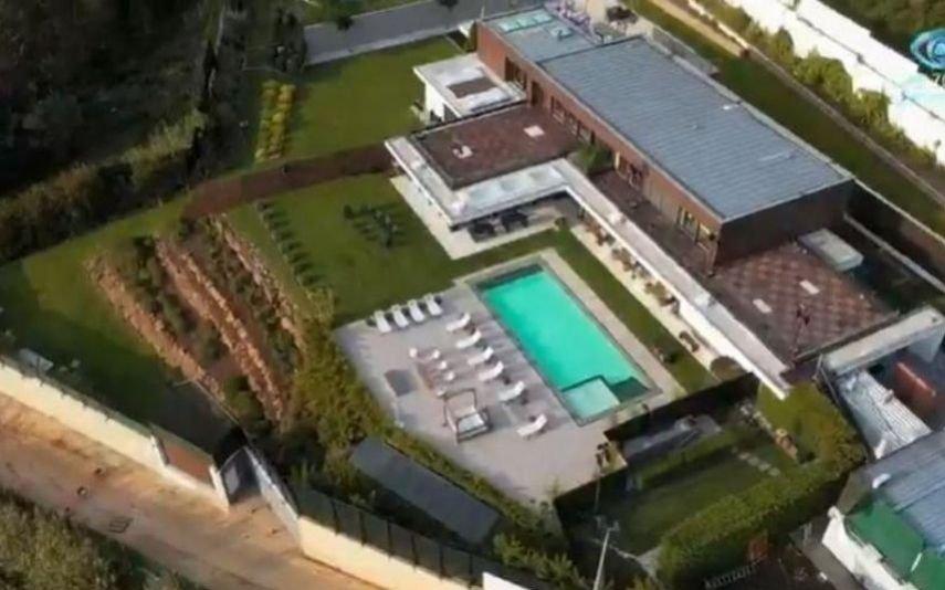 A casa onde acontece o Big Brother