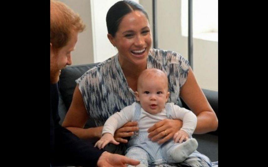 Meghan Markle e o pequeno Archie