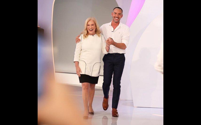 Teresa Guilherme e Cláudio Ramos