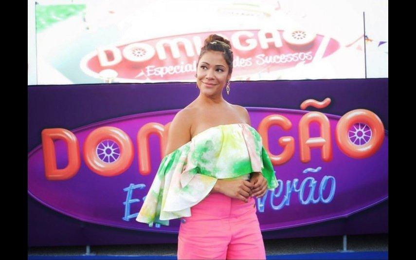 Raquel Tavares explica afastamento de Domingão e agradece o carinho recebido