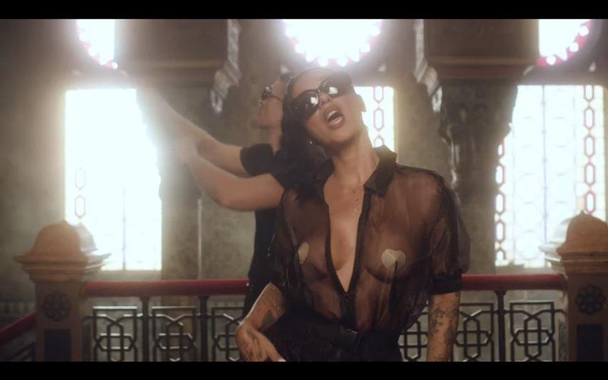 "Ana Malhoa no videoclipe ""Quem Te Dera"""