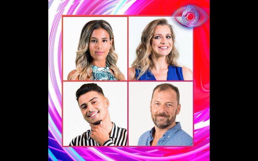 Joana, Andreia, Carlos e Pedro estão em risco de sair na próxima gala
