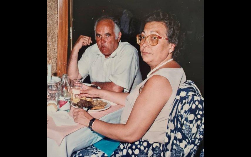 Pai e mãe de Jorge Gabriel