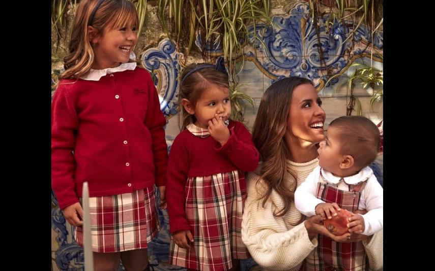 Carolina Patrocínio e Gonçalo Uva são pais de quatro crianças