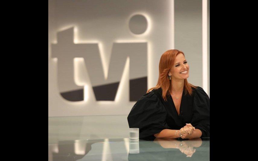 O regresso de Cristina Ferreiro à TVI foi a 13 de setembro