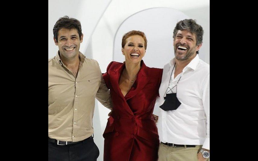 Cristina Ferreira e a sua equipa