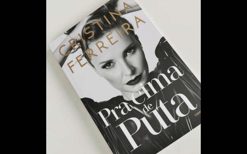 O novo livro de Cristina Ferreira