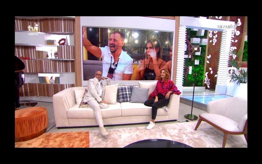 Concorrentes do Big Brother falam em direto com Cristina e Goucha